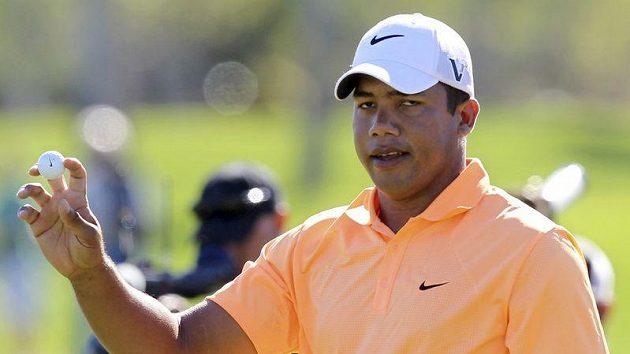 Venezuelský golfista Jhonattan Vegas
