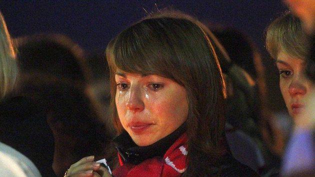 Fanoušci Jaroslavle se z tragédie stále nemohou vzpamatovat.