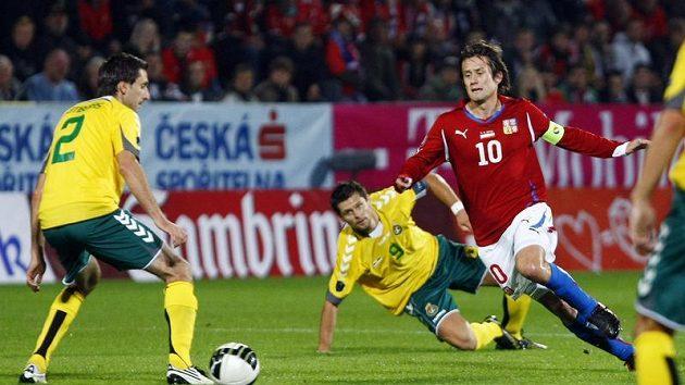 Česku nepomohl ani návrat kapitána Tomáše Rosického.