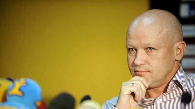 Předseda Českomoravského fotbalového svazu Ivan Hašek
