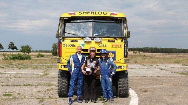 Adam Malysz (uprostřed) znovu vyrazí na Dakar.