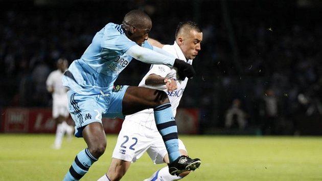 Zápas Marseille - Auxerre - ilustrační foto.