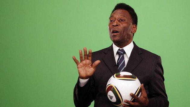Fotbalová legenda Pelé.