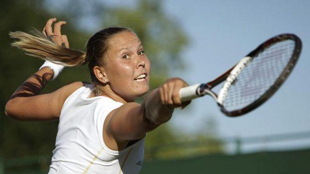 Česká tenistka Lucie Hradecká narazí v prvním kole na svou krajanku Petru Kvitovou.