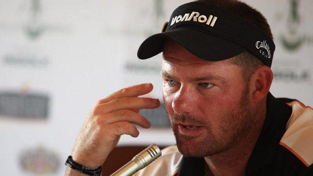 Golfista Alex Čejka