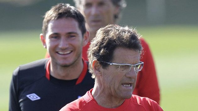 Kouč Fabio Capello anglické fotbalisty na ME nepovede.