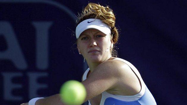 Tenistka Petra Kvitová na turnaji v Dubaji