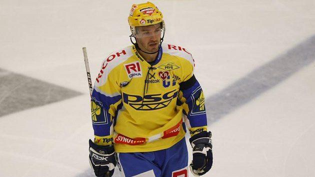 Zlínské hokejisty probral až kapitán Petr Čajánek.