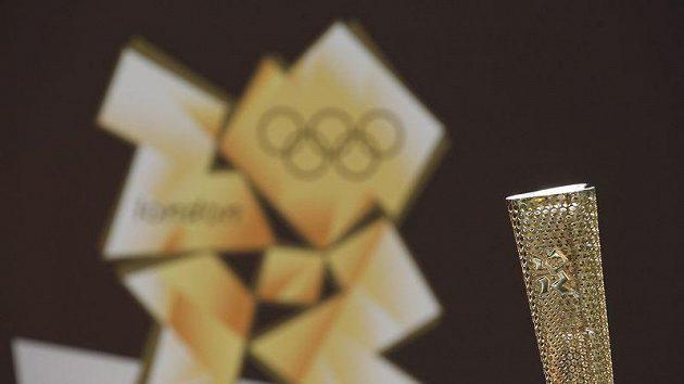 Pochodeň pro olympijské hry v Londýně 2012