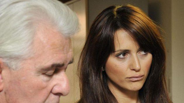 Milenka Johna Terryho a bývalá přítelkyně Wana Bridge Vanessa Peroncelová