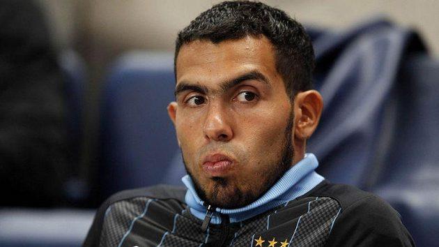Carlos Tevez už možná nastoupí proti Chelsea