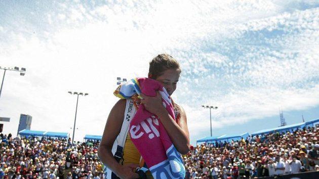 Srbská tenistka Ana Ivanovičová se zranila a její účast na Australian Open je v ohrožení.