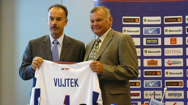 Vladimír Vůjtek dostal dres slovenské hokejové reprezentace