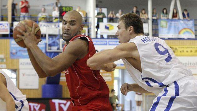 Vlevo David Ramseier ze Švýcarska a Pavel Houška z ČR.