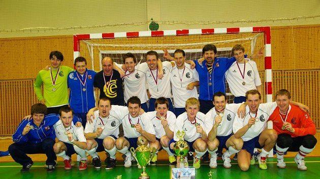 Chemcomex Praha je i vítěz posledního ročníku futsalové ligy.