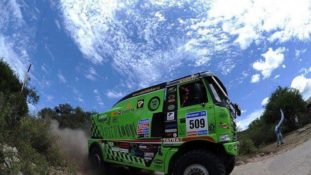 Tatra Marka Spáčila na trati Rallye Dakar.