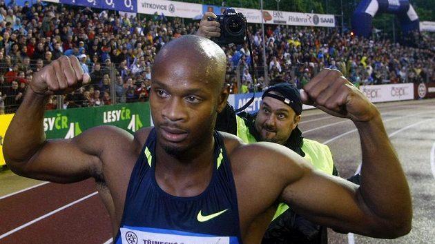 Asafa Powell si při souboji s Tysonem Gayem troufá na ohrožení světového rekordu.