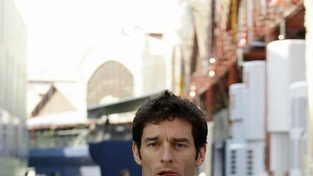 Pilot formule 1 stáje Red Bull Mark Webber