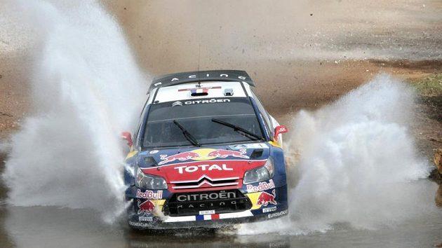 Sebastian Loeb v úvodu Mexické rallye nekraloval