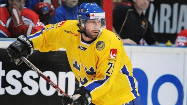 Peter Forsberg během turnaje Karjala