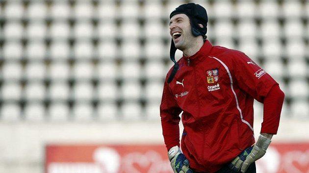 Proti Peru se do brány postaví Petr Čech.