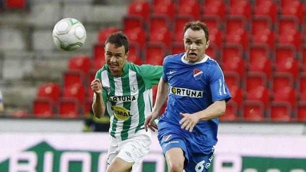 Zdeněk Šenkeřík (vpravo) byl jedním z věřitelů klubu.