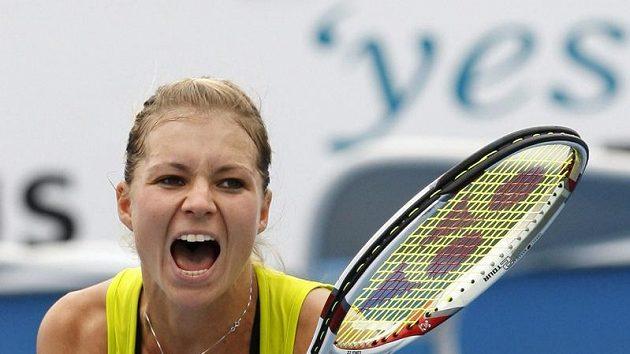 Ruská tenistka Maria Kirilenková na turnaji v Melbourne