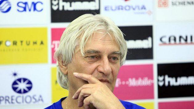 Trenér fotbalistů Slovanu Liberec Ladislav Škorpil