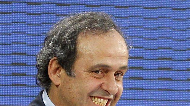 Předseda UEFA Michel Platini