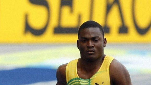 Jamajský sprinter Steve Mullings.