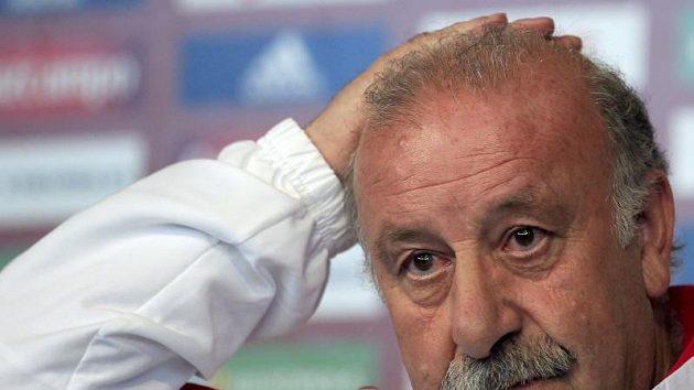 Kouč španělských fotbalistů Vicente del Bosque.