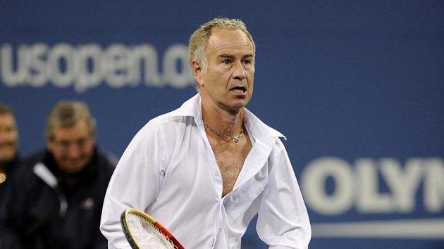 Bývalý americký tenista John McEnroe