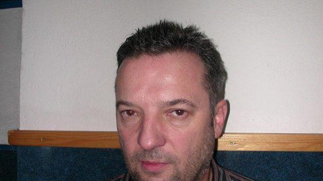 Trenér hokejistů Chomutova Milan Kašpárek