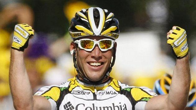 Britský cyklista Mark Cavendish bude závodit za tým Sky.