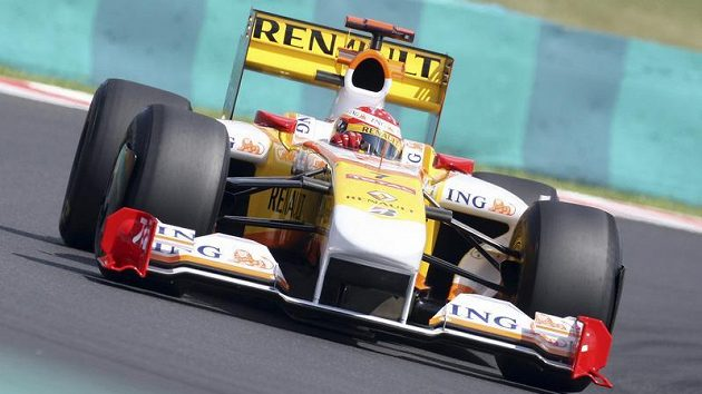 Pilot renaultu Fernando Alonso