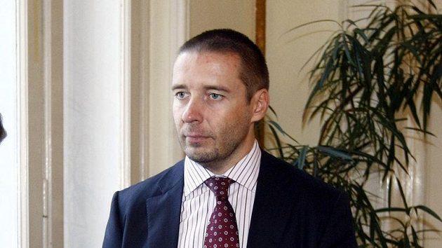 Dušan Svoboda na valné hromadě FA ČR