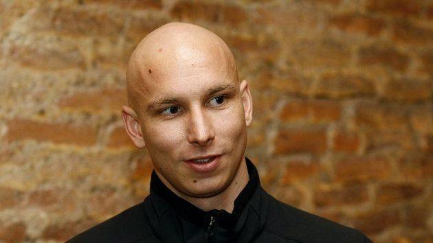 Badmintonista Petr Koukal