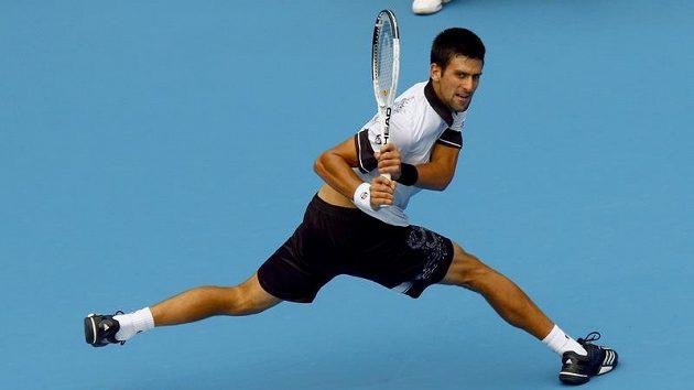 Novak Djokovič na turnaji v Pekingu.
