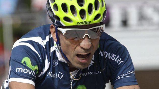 Kolumbijský cyklista Mauricio Soler