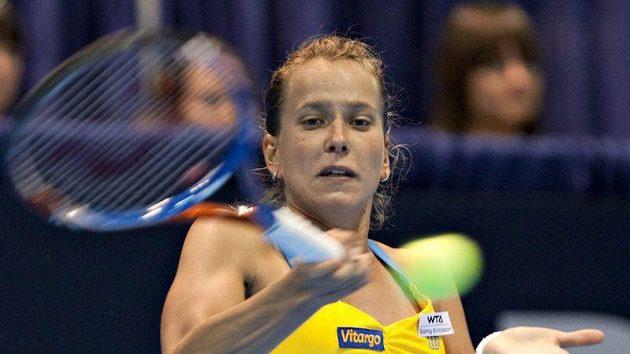 Barbora Záhlavová-Strýcová si po vítězství v Québaku polepšila ve světovém žebříčku.