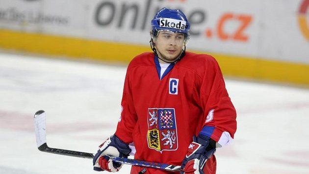 Útočník hokejové dvacítky Jan Káňa