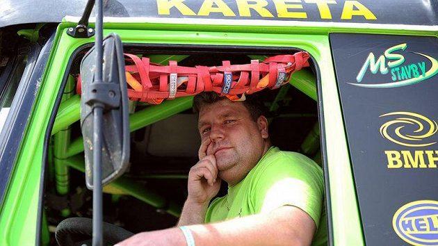 Martin Kolomý má i letos z Dakaru respekt.