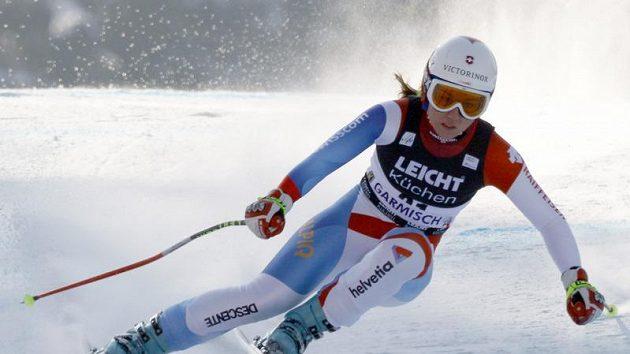 Čtvrté místo Fabiene Suterové v obřím slalomu na olympijských hrách bylo letos jediným špičkovým výsledkem švýcarských sjezdařek
