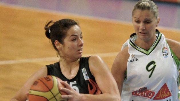 Maja Miljkovičová z Bourges (vlevo) a Irena Borecká z Brna. Ilustrační foto.