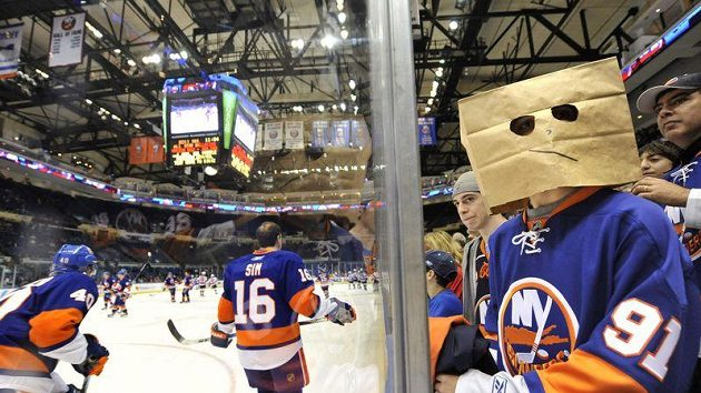 Fanoušek New York Islanders - ilustrační foto.