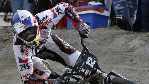 Český jezdec BMX Michal Prokop