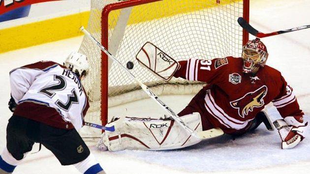 Milan Hejduk pokračuje v kariéře v NHL.