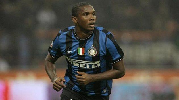 Jediný a vítězný gól Interu zařídil Samuel Eto´o.