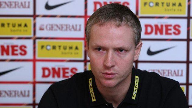 Nový trenér Sigmy Olomouc Václav Jílek.