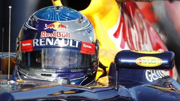 Německý pilot stáje Red Bull Sebastian Vettel